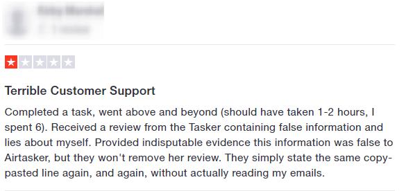 airtasker complaint