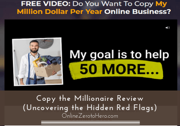 copy the millionaire review header