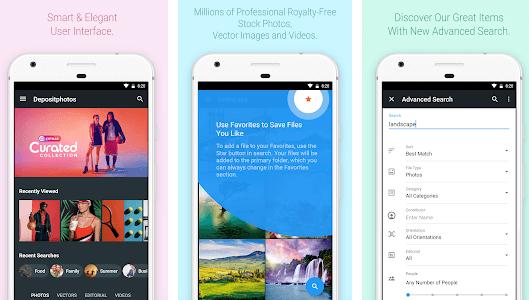 depositphotos app