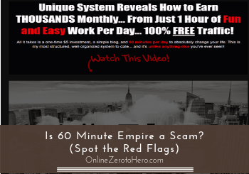 is 60 minute empire a scam header