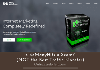 is somanyhits a scam review header