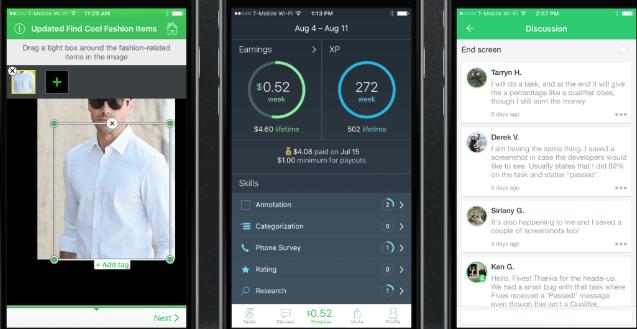 spare5 app screenshot