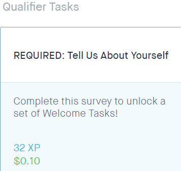 spare5 qualifier tasks