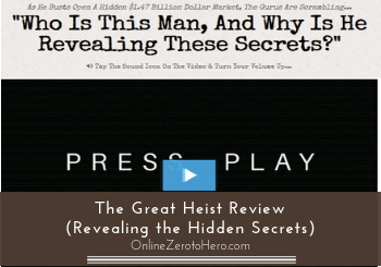 the great heist review header