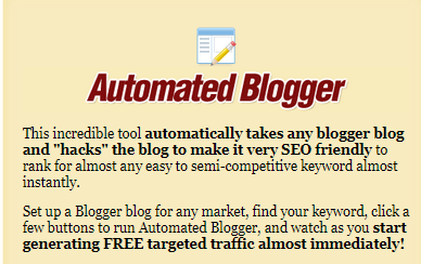 automated traffic automated blogger