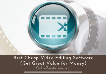 best cheap video editing software header