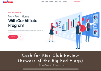 Cash for Kids Club Review (Beware of the Big Red Flags)