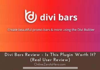 divi bars review header