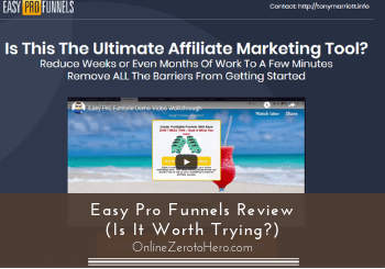 Easy Pro Funnels Review (Is It Worth Trying?)