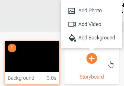 flexclip story board
