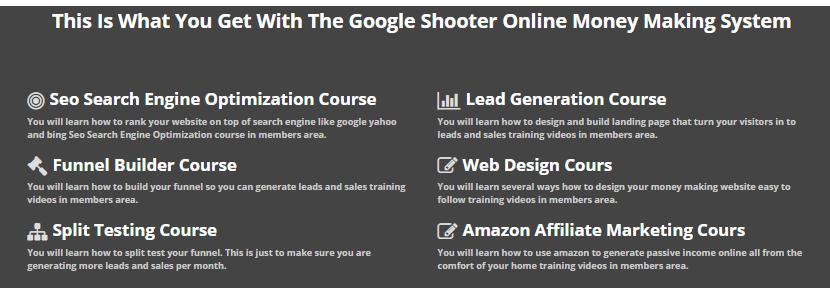 google shooter courses