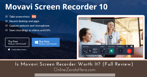 Is Movavi Screen Recorder Worth It? (Full Review)