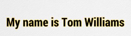 your income profits tom williams creator