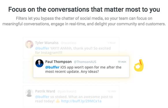 buffer pinpoint conversation