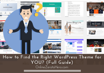 how to find the right wordpress theme header