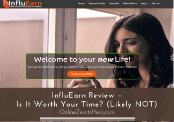 influearn review header