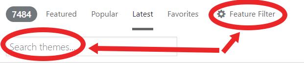 wp search bar