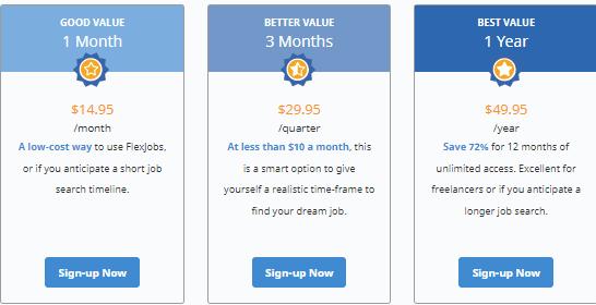 flexjobs membership fee