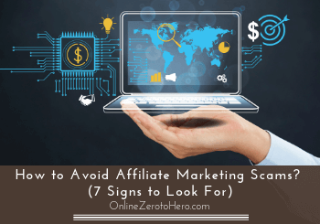 how to avoid affiliate marketing scams header