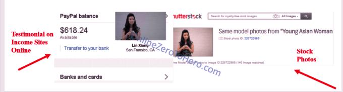 income sites online fake testimonial