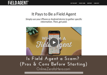 is field agent a scam review header