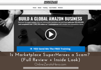 is marketplace superhero a scam review header