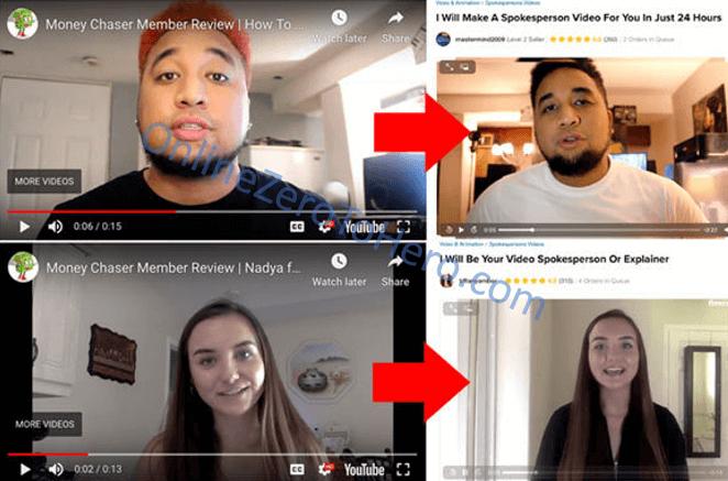 money chaser fake testimonials