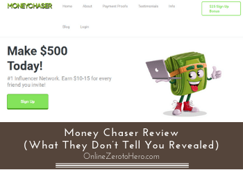 money chaser review header