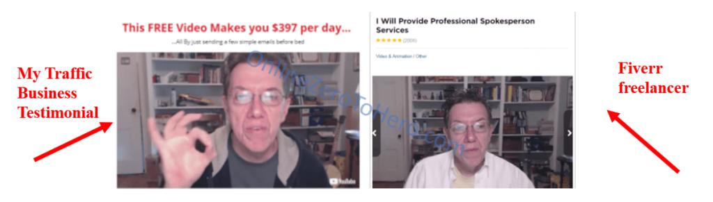 my traffic business fake testimonial