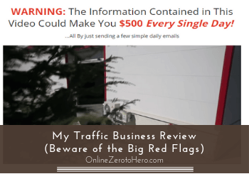 my traffic business review header