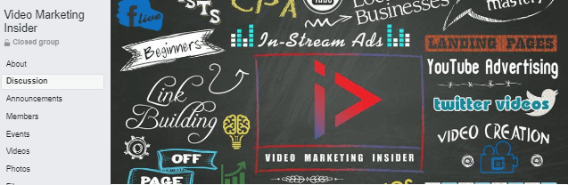 video marketing insider facebook group