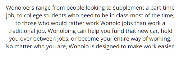 wonoloers income potential