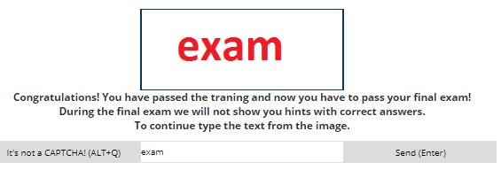2captcha exam