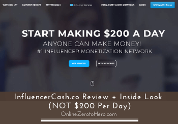 influencercash co review header