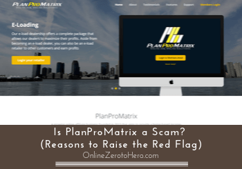 is planpromatrix a scam review header