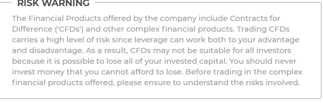warning from iq option website