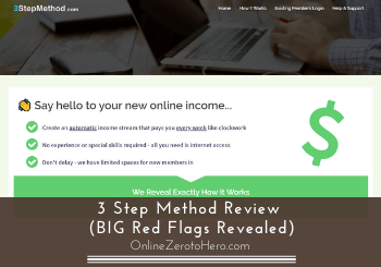 3 Step Method Review (5 BIG Red Flags Revealed)