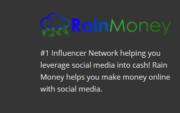 What is rainmoney statement