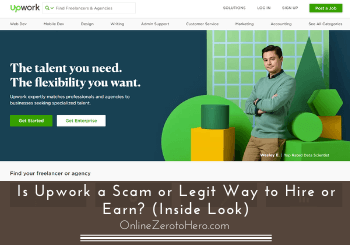upwork a scam review header