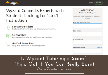 is wyzant tutoring a scam review header