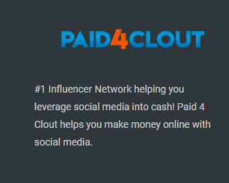 paid4clout similarity to rainmoney