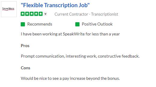 positive speakwrite review