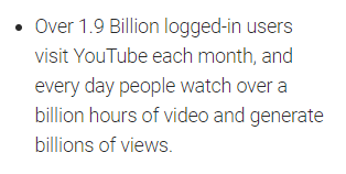 youtube views per day stat