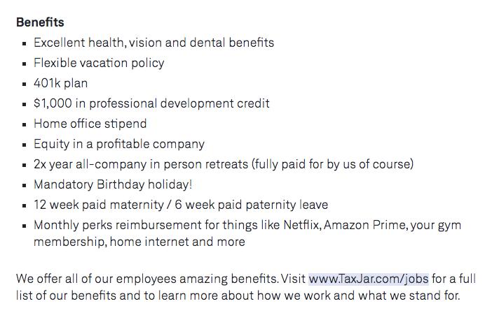 we work remotely jobs benefit samples