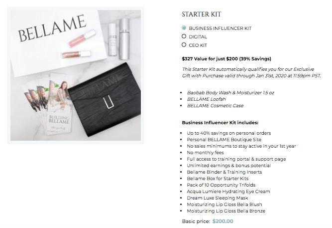 bellame-starter-kit