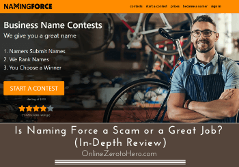 is naming force a scam review header