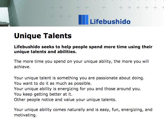 lifebushido-unique-talents