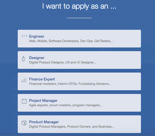 toptal-application-page