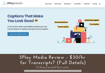 3play media review header