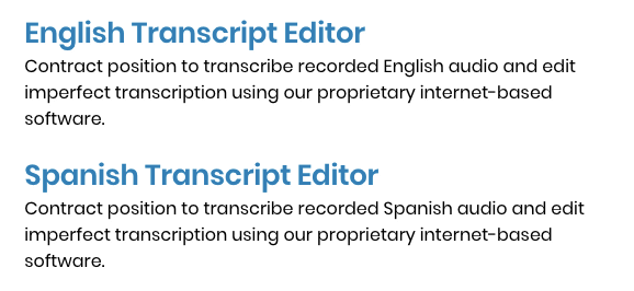 3play media transcript editor